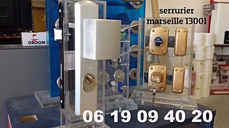 serrurier marseille 13001