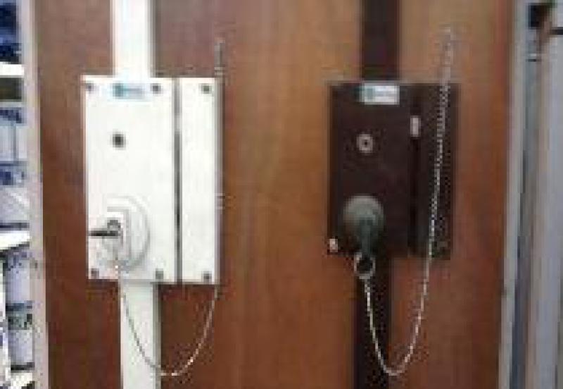 Ouverture de porte simple fermée a clés
